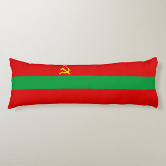 Transnistria Flag Body Pillow
