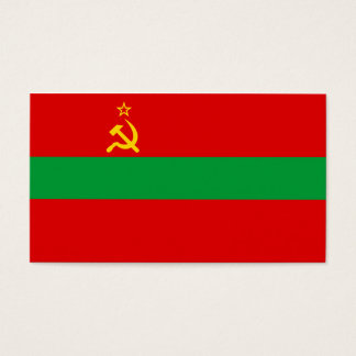 Transnistria Flag Business Card