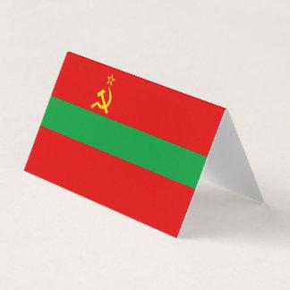 Transnistria Flag Business Card