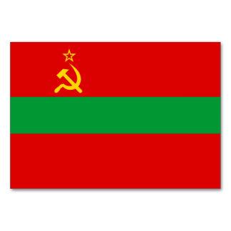 Transnistria Flag Card