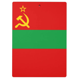 Transnistria Flag Clipboard