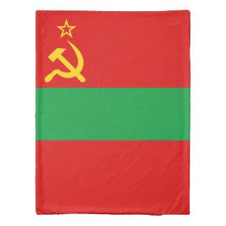 Transnistria Flag Duvet Cover