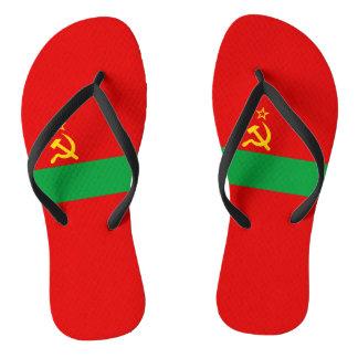Transnistria Flag Flip Flops
