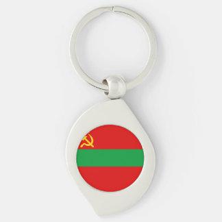 Transnistria Flag Keychain