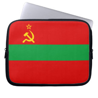 Transnistria Flag Laptop Sleeve