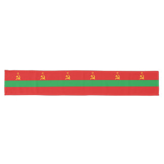 Transnistria Flag Long Table Runner