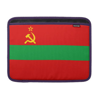 Transnistria Flag MacBook Sleeve
