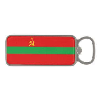 Transnistria Flag Magnetic Bottle Opener