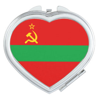 Transnistria Flag Makeup Mirrors