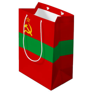 Transnistria Flag Medium Gift Bag