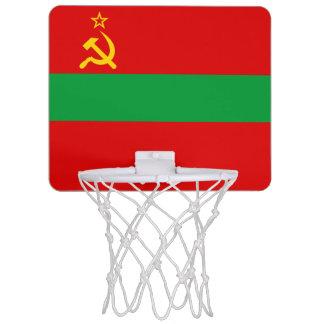 Transnistria Flag Mini Basketball Hoop