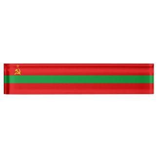 Transnistria Flag Nameplate