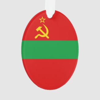 Transnistria Flag Ornament