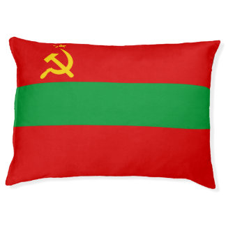 Transnistria Flag Pet Bed