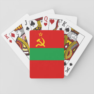 Transnistria Flag Playing Cards