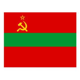 Transnistria Flag Postcard