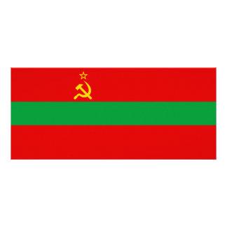Transnistria Flag Rack Card