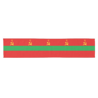 Transnistria Flag Short Table Runner