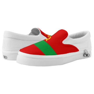Transnistria Flag Slip-On Sneakers