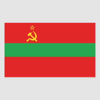 Transnistria Flag Sticker