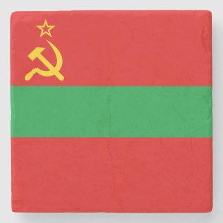 Transnistria Flag Stone Coaster