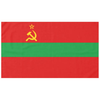 Transnistria Flag Tablecloth