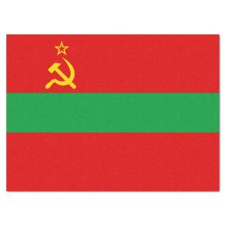 Transnistria Flag Tissue Paper