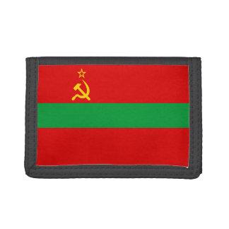 Transnistria Flag Tri-fold Wallet