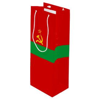 Transnistria Flag Wine Gift Bag