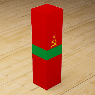 Transnistria Flag Wine Gift Box