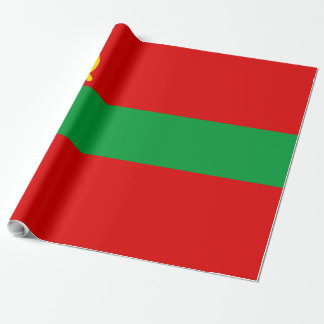Transnistria Flag Wrapping Paper