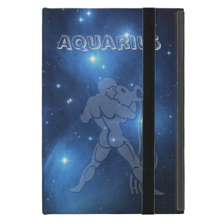 Transparent Aquarius Cover For iPad Mini