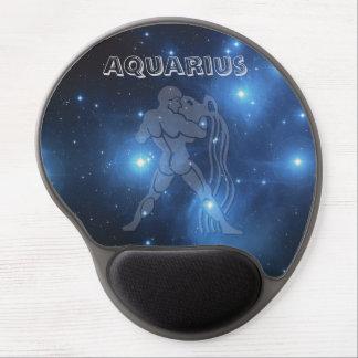 Transparent Aquarius Gel Mouse Pad