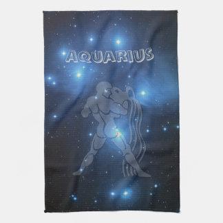 Transparent Aquarius Kitchen Towel