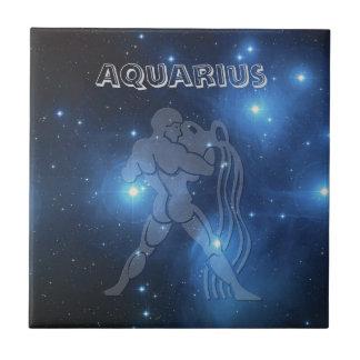 Transparent Aquarius Tile