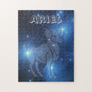 Transparent Aries Jigsaw Puzzle