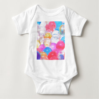 transparent balls baby bodysuit