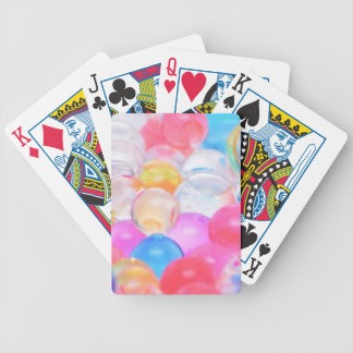 transparent balls bicycle playing cards