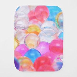 transparent balls burp cloth