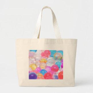 transparent balls large tote bag
