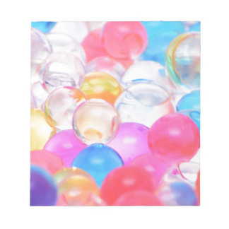 transparent balls notepad