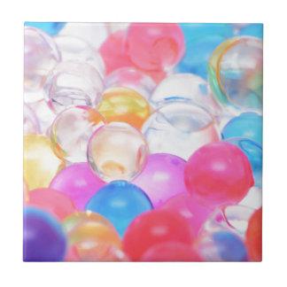 transparent balls tile
