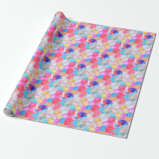 transparent balls wrapping paper