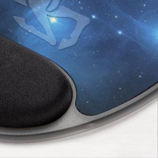 Transparent Capricorn Gel Mouse Pad