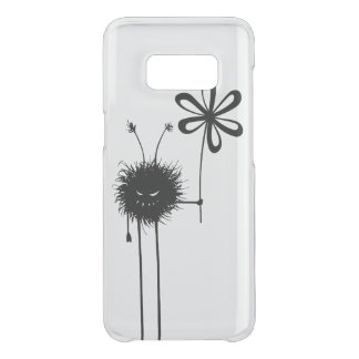Transparent Evil Flower Bug Vintage Uncommon Samsung Galaxy S8 Case