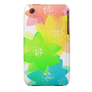 Transparent Flowers iPhone 3 Case