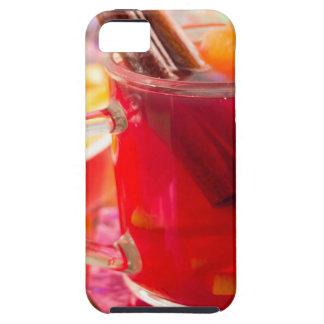 Transparent mug with citrus mulled wine, cinnamon iPhone 5 case