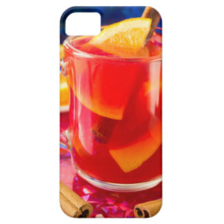 Transparent mug with citrus mulled wine iPhone 5 case