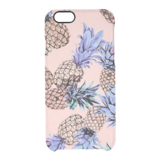 Transparent Pineapple iPhone 6/6s Clear Case