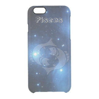Transparent Pisces Clear iPhone 6/6S Case
